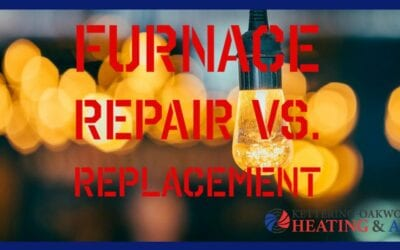 Should I repair my aging furnace, or replace it?